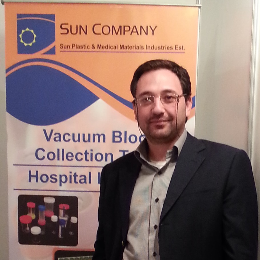 Nedal Shawabkah - Sun Plastic & Medical Materials Industries Co.Ltd - Jordan - Aumet